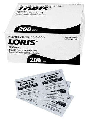 LORIS™ Sterile Alcohol Pads